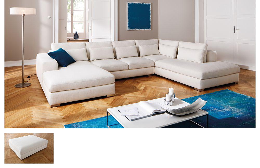 marshall von candy wohnlandschaft wei polsterm bel g nstig online kaufen sofa couch. Black Bedroom Furniture Sets. Home Design Ideas