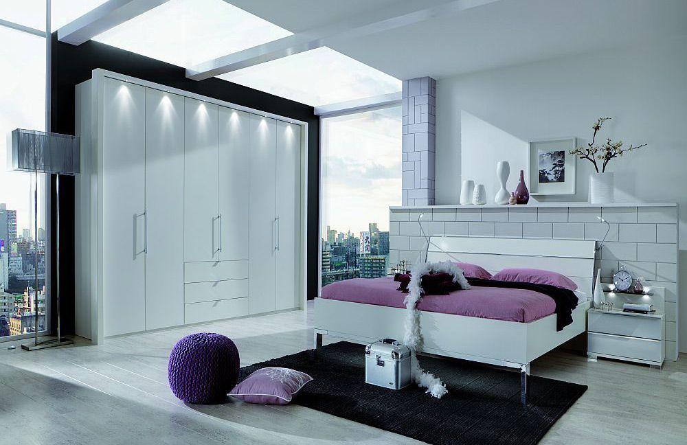 Wiemann Schlafzimmer-Set Loft alpinweiß | Möbel Letz - Ihr Online-Shop