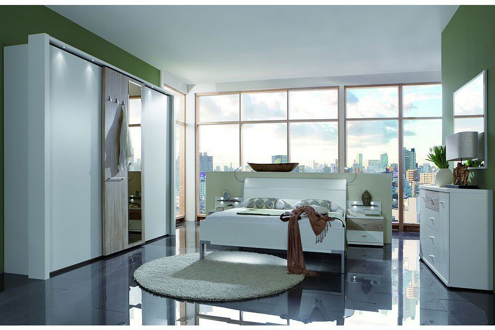 Wiemann Schlafzimmer Treviso Eiche Sägerau Weiß Möbel Letz Ihr
