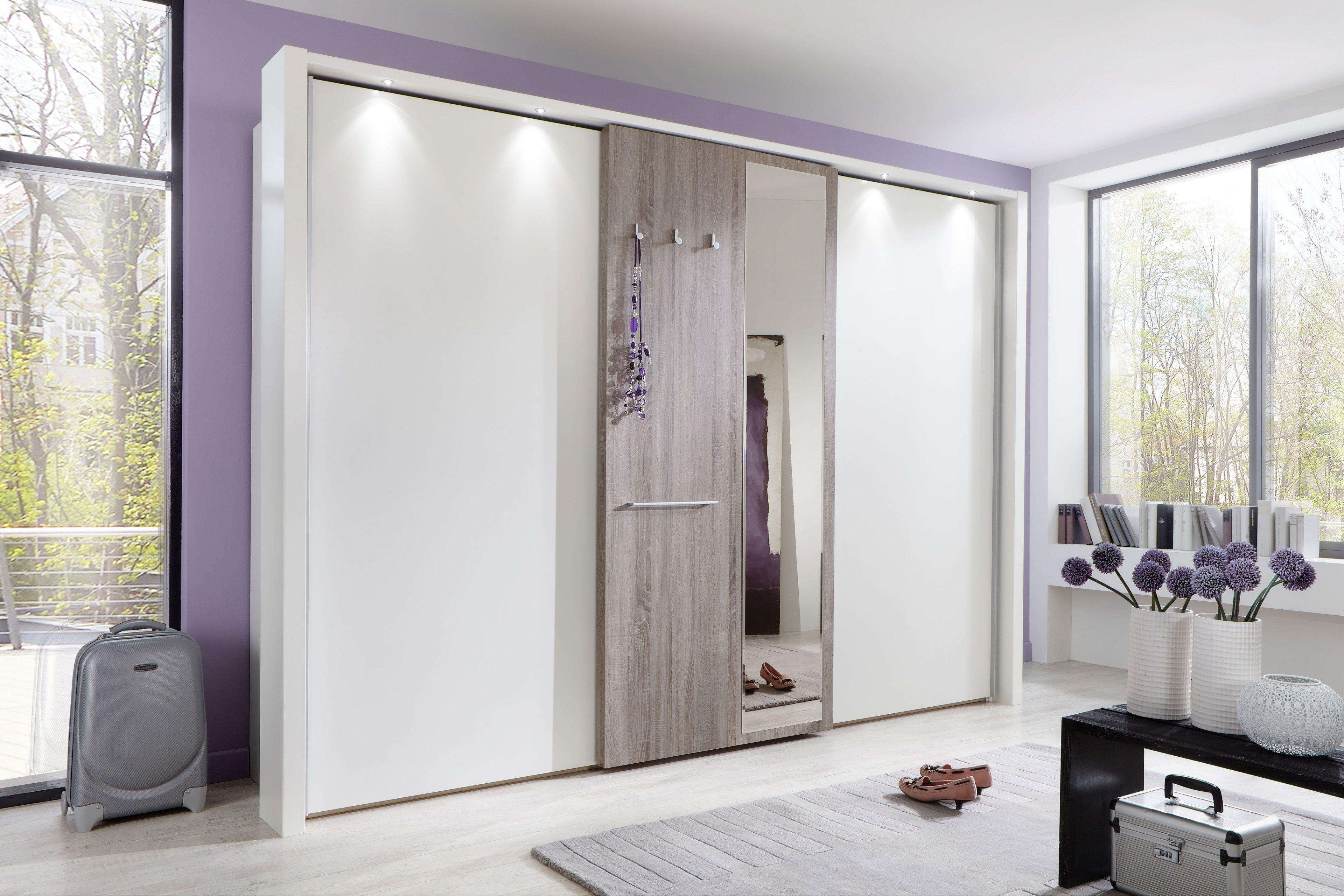 Schlafzimmer Treviso von Wiemann in weiß / Trüffeleiche. Möbel Letz ...