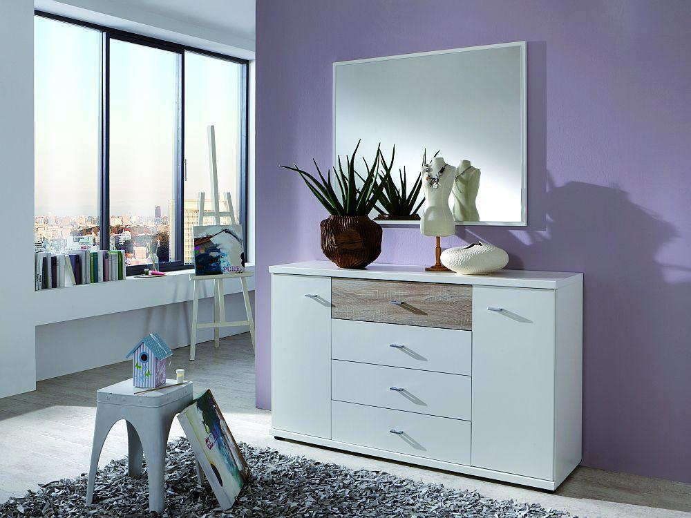 wiemann treviso schlafzimmer wei eiche s gerau m bel letz ihr online shop. Black Bedroom Furniture Sets. Home Design Ideas