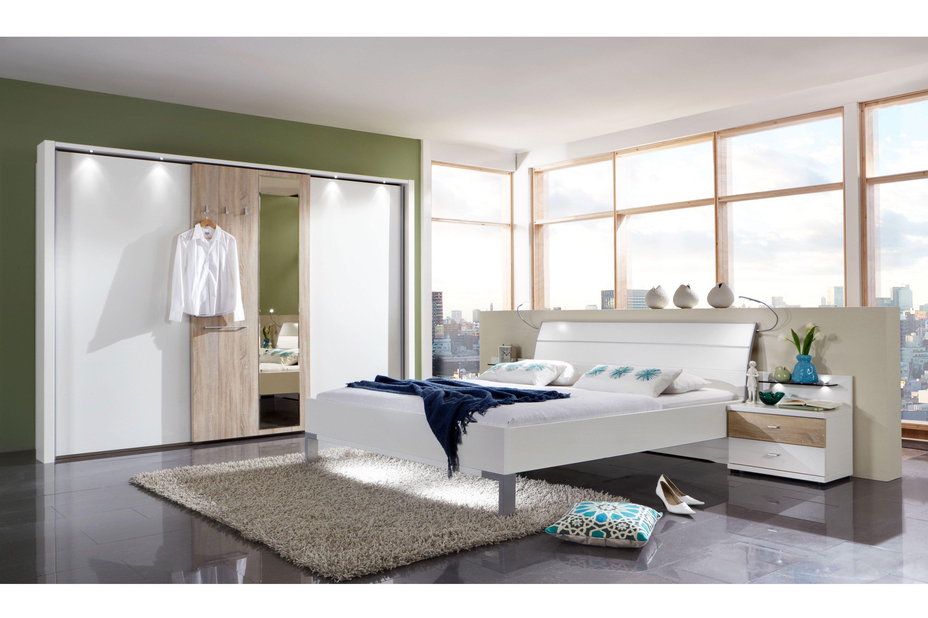 Schlafzimmer Treviso Wiemann Eiche Sägerau Weiß Möbel Letz Ihr
