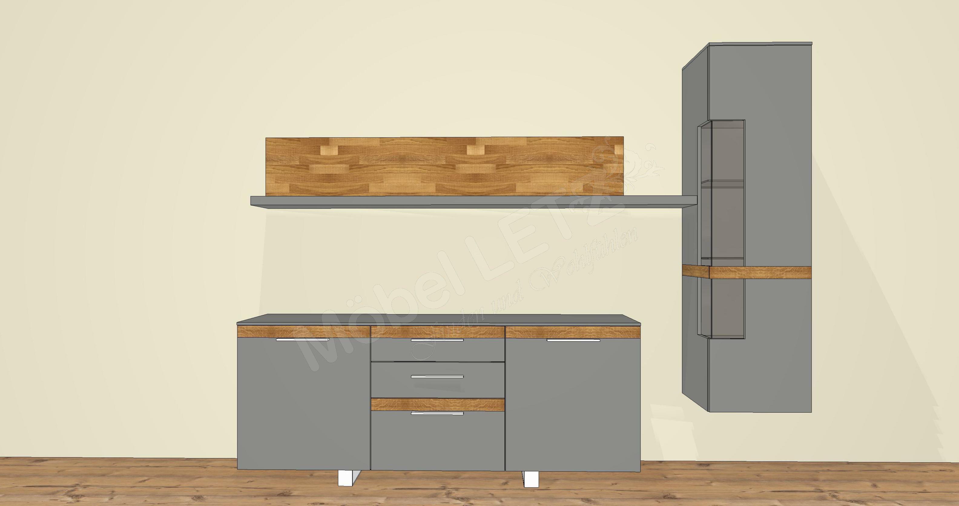 Wohnwand Casale CS32 von Gwinner  Möbel Letz  Ihr Online