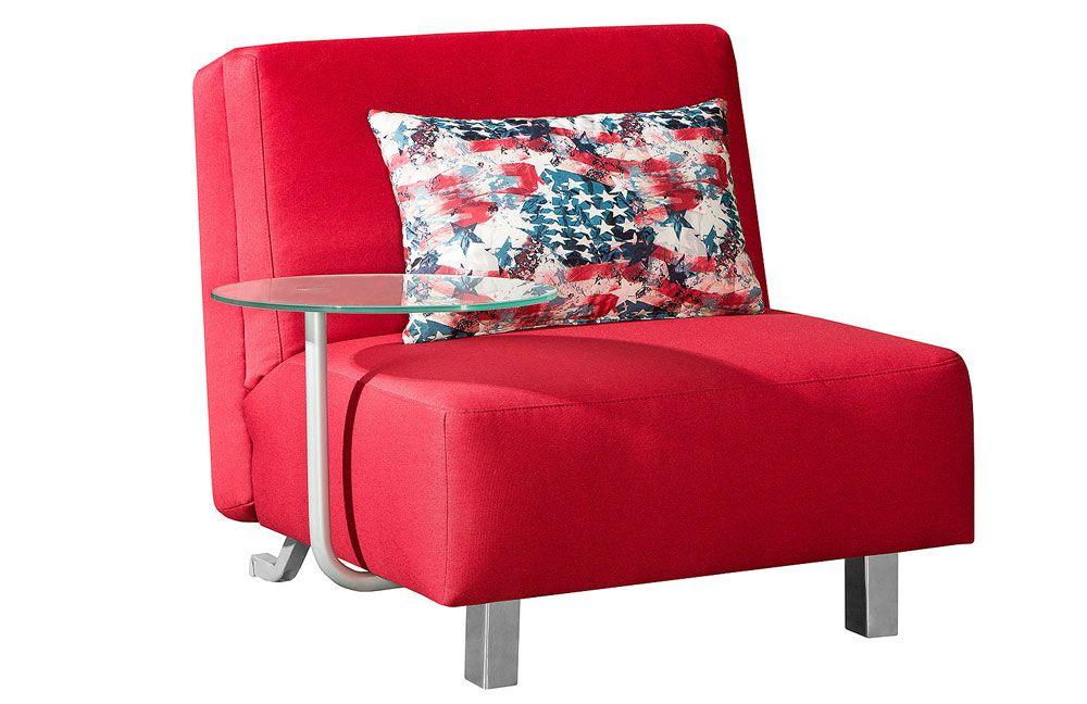 jessica von restyl schlafsessel rot schlafsofas g nstig. Black Bedroom Furniture Sets. Home Design Ideas