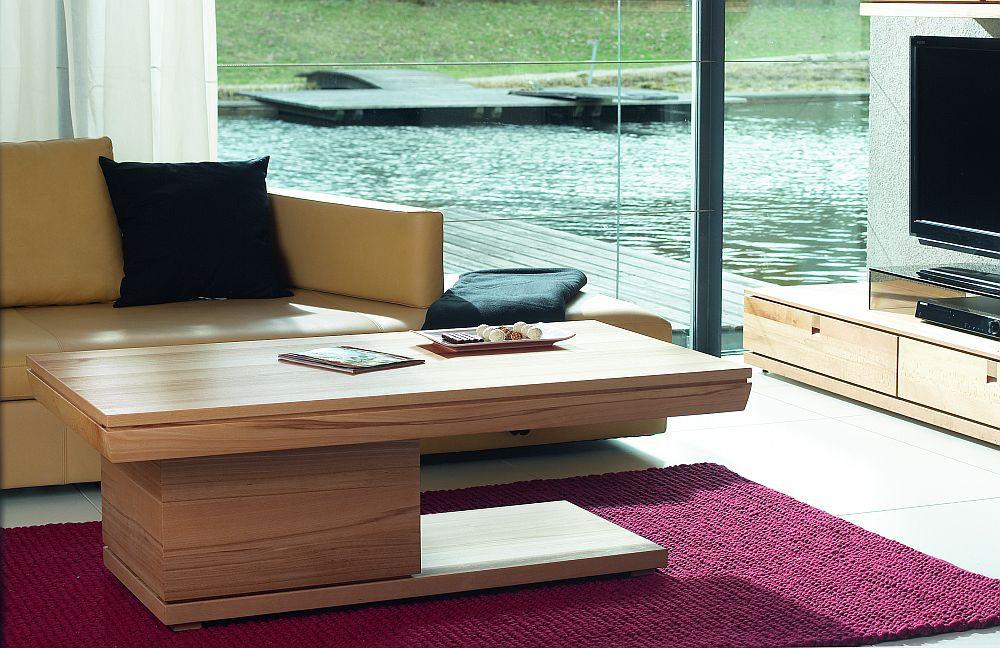 couchtisch rechteckig in kernbuche v vita von voglauer m bel letz ihr online shop. Black Bedroom Furniture Sets. Home Design Ideas