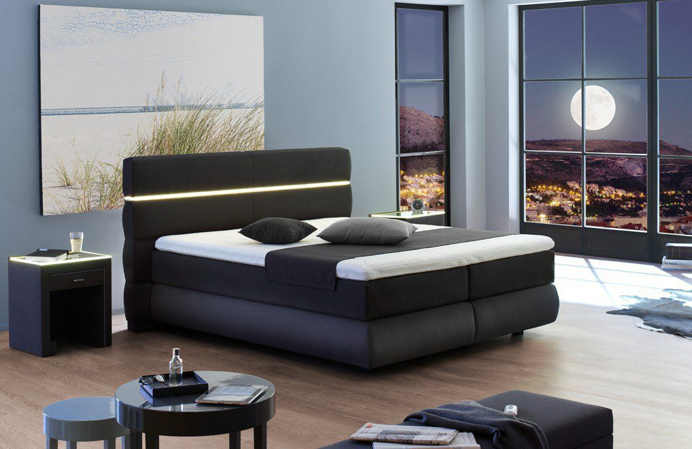 fey co cornwall boxspringbett mit motor m bel letz ihr online shop. Black Bedroom Furniture Sets. Home Design Ideas