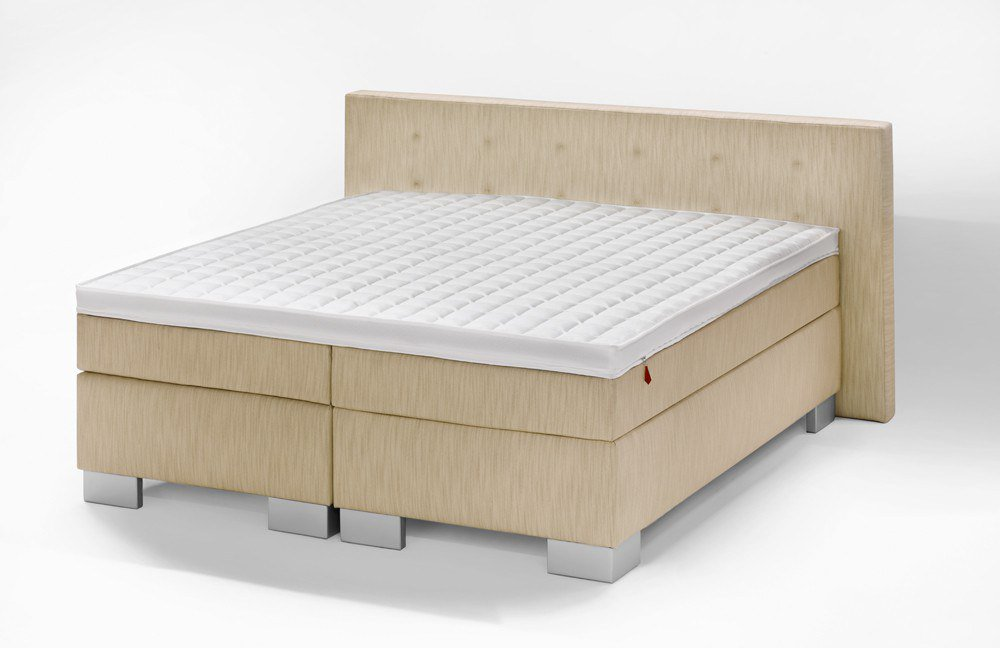 fey co boxspringbett mailand in beige m bel letz ihr. Black Bedroom Furniture Sets. Home Design Ideas