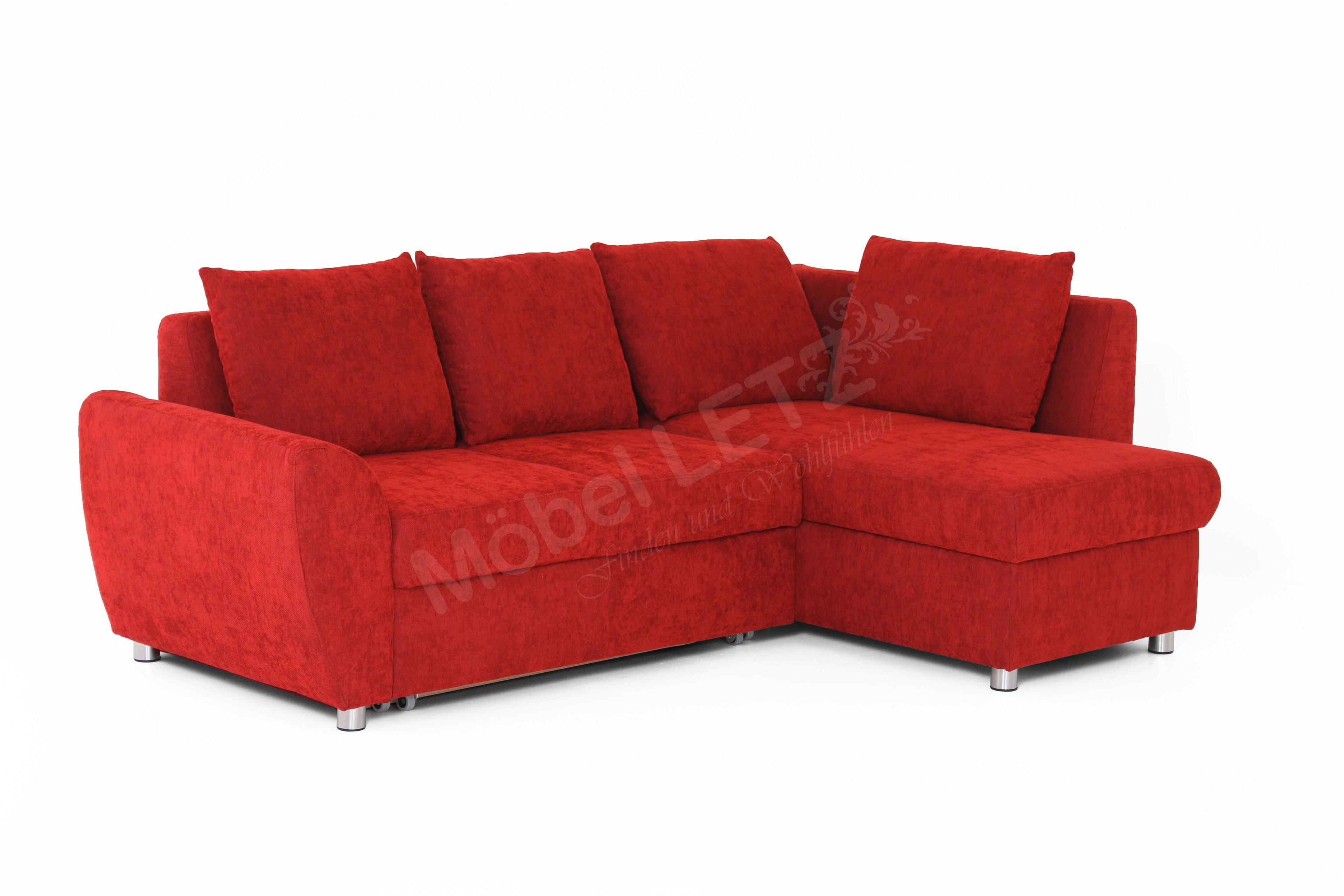 multiflexx von poco ecksofa rot polsterm bel g nstig online kaufen sofa couch schlafsofa zum. Black Bedroom Furniture Sets. Home Design Ideas