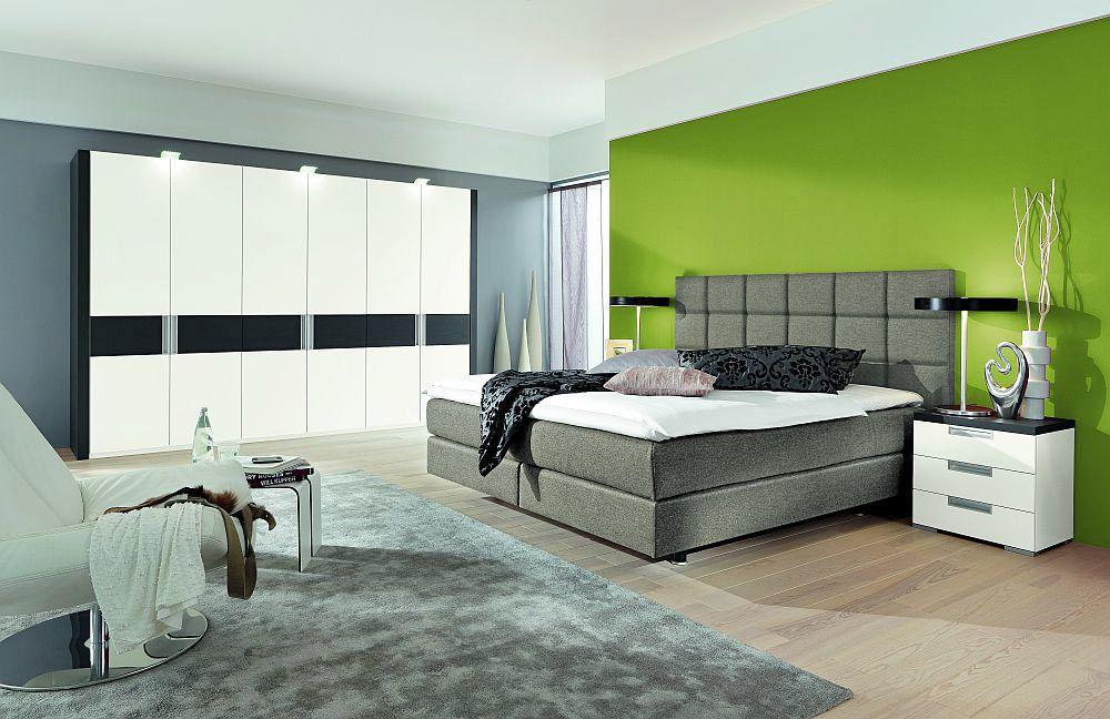 boxspringbett couture von femira in hellgrau m bel letz. Black Bedroom Furniture Sets. Home Design Ideas