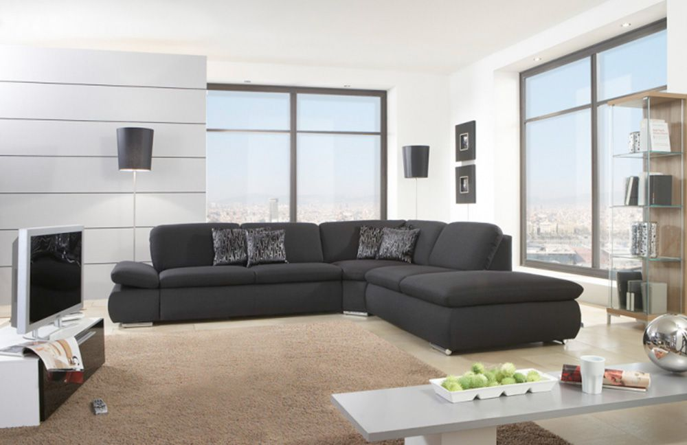 laventura ecksofa anthrazit von poco m bel letz ihr online shop. Black Bedroom Furniture Sets. Home Design Ideas