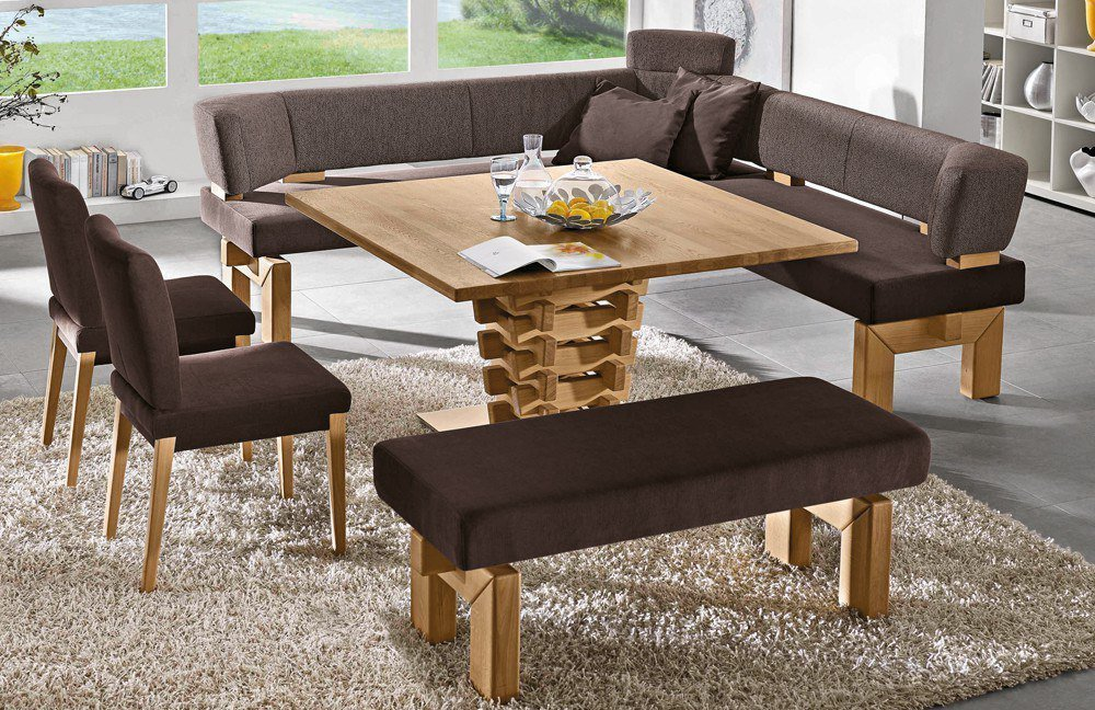 7985 Brunch Von K+W Formidable Home Collection   Eckbank Braun