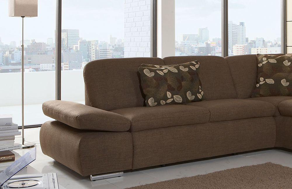 ecksofa braun von poco modell laventura m bel letz ihr online shop. Black Bedroom Furniture Sets. Home Design Ideas
