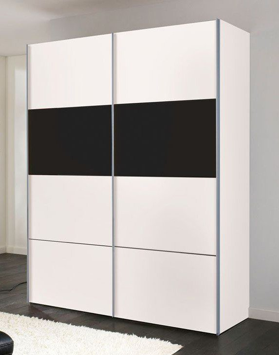 schwarz weiser kleiderschrank kreative ideen f r design und wohnm bel. Black Bedroom Furniture Sets. Home Design Ideas