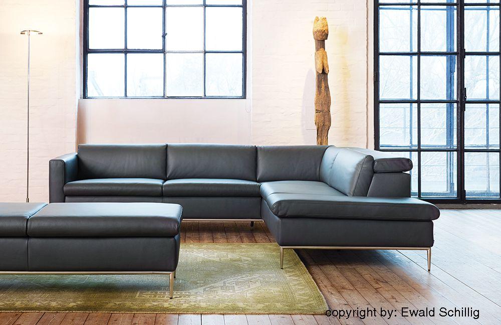ewald schillig ledersofa avenue m bel letz ihr online shop. Black Bedroom Furniture Sets. Home Design Ideas