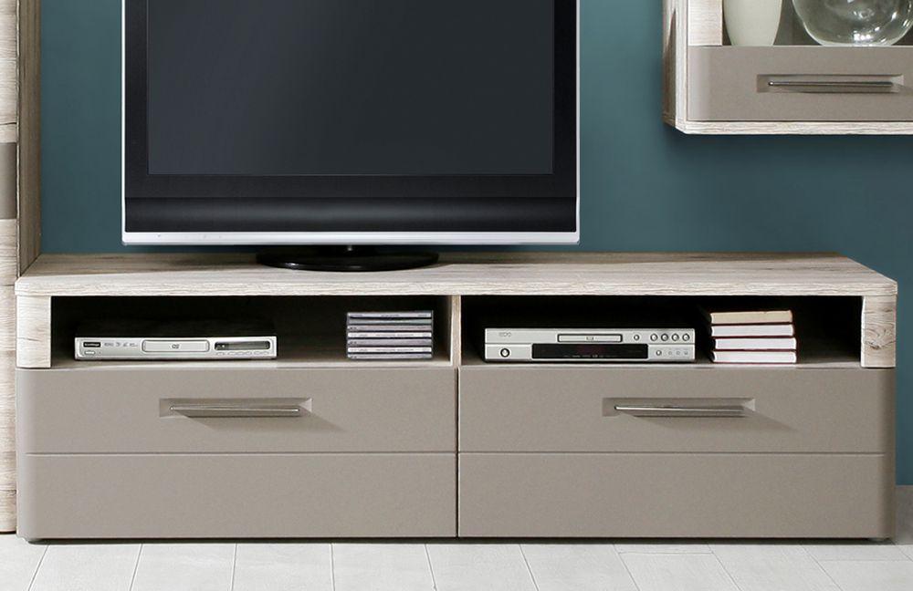 wohnwand riva sandeiche basalt von forte m bel letz. Black Bedroom Furniture Sets. Home Design Ideas