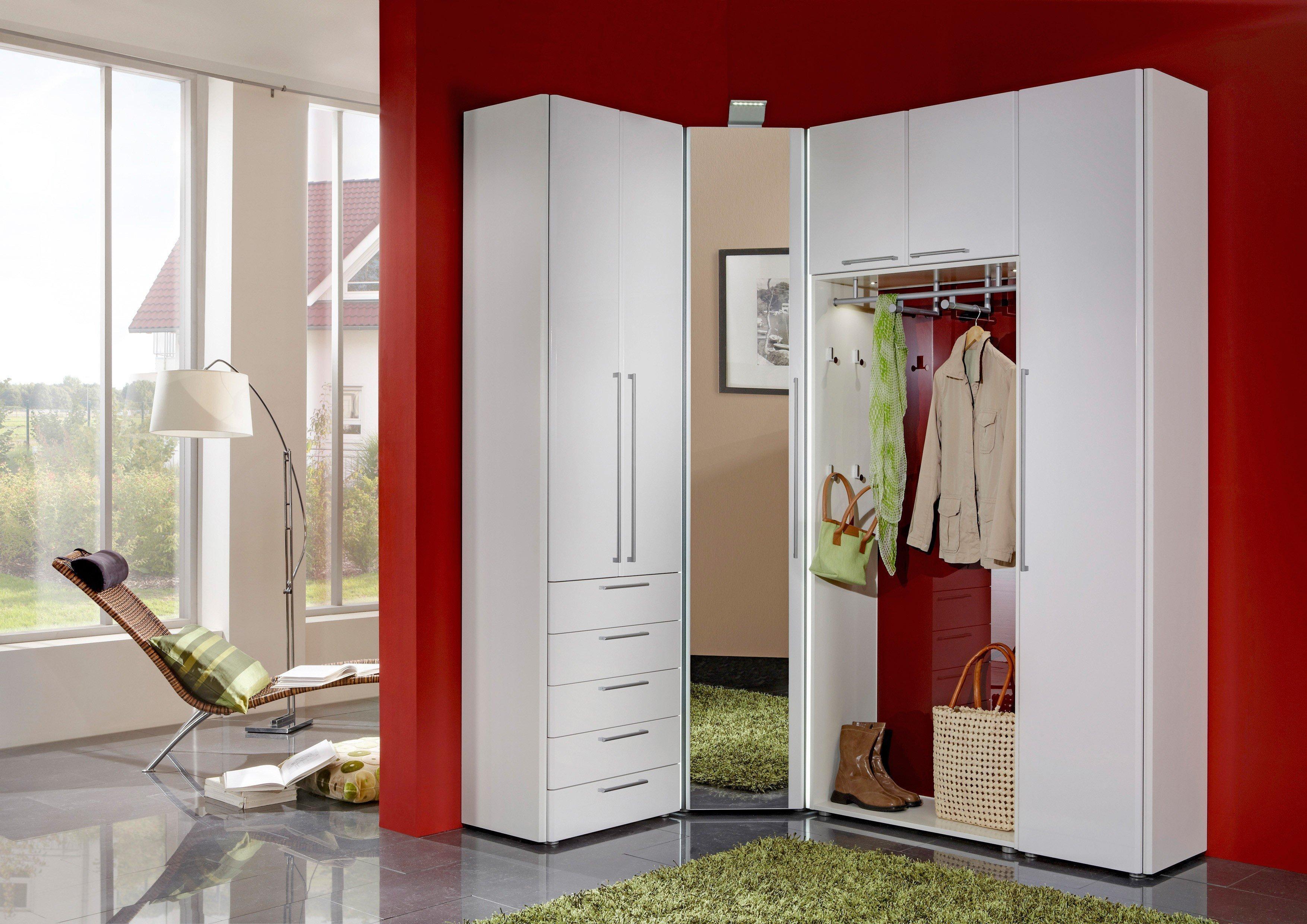 Wittenbreder garderobe en tree wei rot m bel letz ihr for Garderobe rot