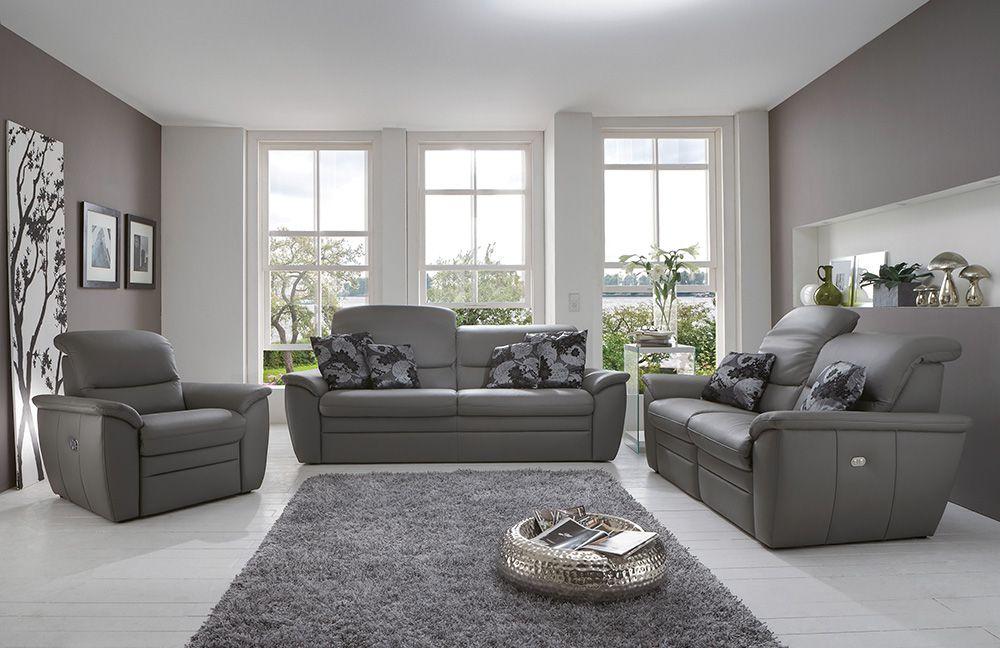 Ledergarnitur Bronco von Polsteria | Möbel Letz - Ihr Online-Shop