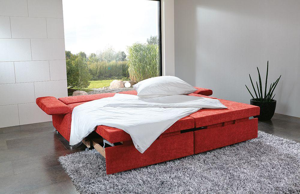 multiflexx von poco sofa rot polsterm bel g nstig online. Black Bedroom Furniture Sets. Home Design Ideas