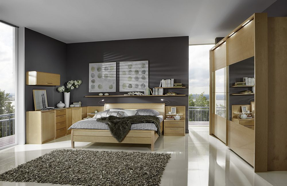 schlafzimmer careen von disselkamp birke champagner. Black Bedroom Furniture Sets. Home Design Ideas