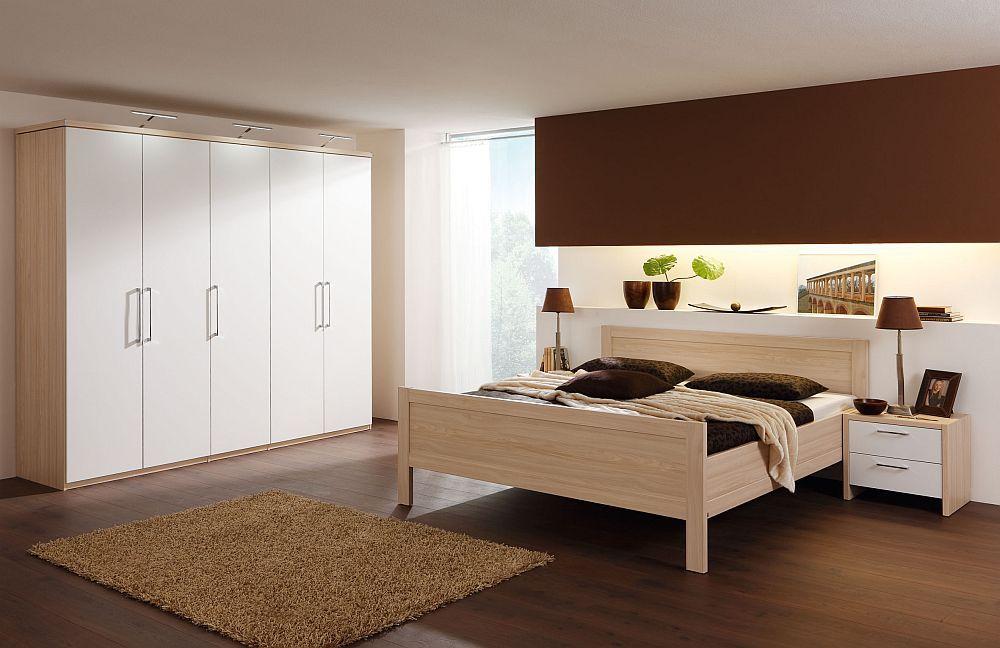 Schlafzimmer Turin Von Nolte Delbrück In Weiß Ahorn. Möbel Letz ... Schlafzimmer Nolte