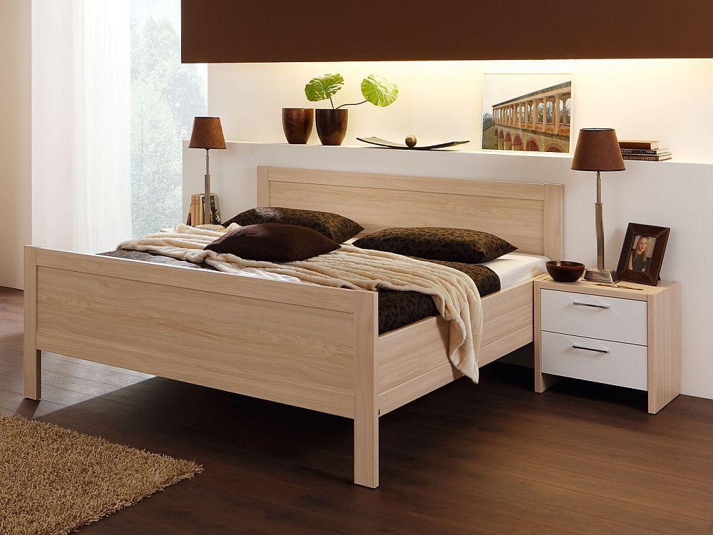 Schlafzimmer Turin Von Nolte Delbrück In Weiß Ahorn. Möbel Letz ...