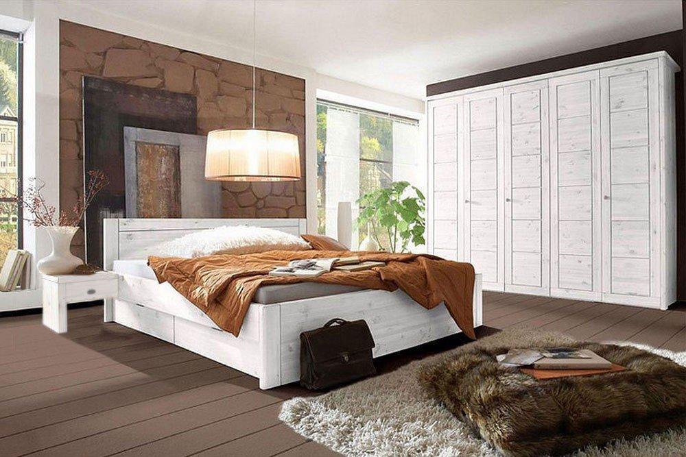 Wohn(glück)lich Vita Schlafzimmer Kiefer weiß | Möbel Letz - Ihr ...