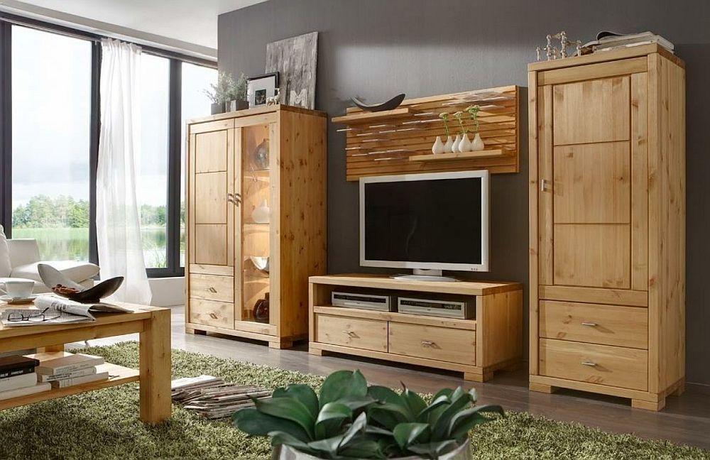 luwo wohnwand guldborg kiefer massiv m bel letz ihr. Black Bedroom Furniture Sets. Home Design Ideas