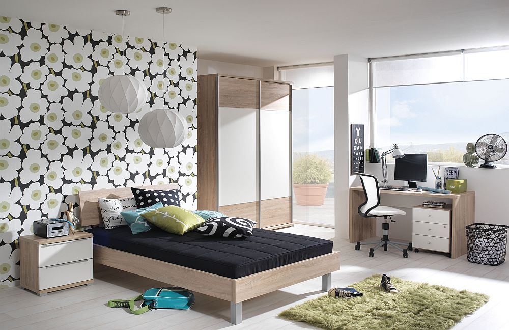 wellem bel teenio jugendzimmer wildeiche m bel letz. Black Bedroom Furniture Sets. Home Design Ideas