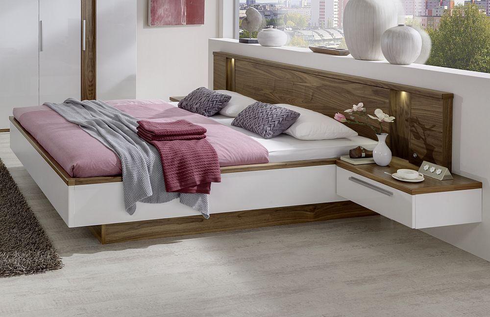 schlafzimmer cloud 7 disselkamp walnuss wei m bel. Black Bedroom Furniture Sets. Home Design Ideas