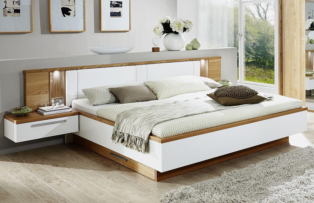Schlafzimmer Disselkamp Cloud 7 weiß Wildeiche  Möbel Letz - Ihr Online-Shop
