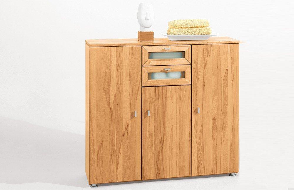 kombi kommode faro plus 1823 kernbuche von reco wohnen m bel letz ihr online shop. Black Bedroom Furniture Sets. Home Design Ideas