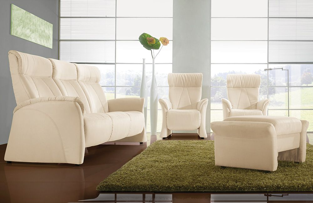 himolla polstergarnitur 4895 in creme m bel letz ihr online shop. Black Bedroom Furniture Sets. Home Design Ideas
