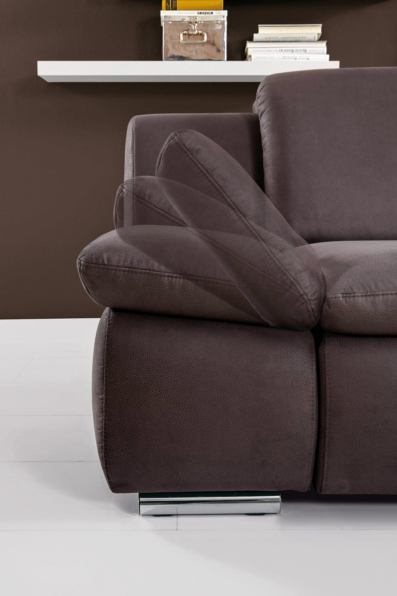 wohnlandschaft isona in anthrazit von poco m bel letz ihr online shop. Black Bedroom Furniture Sets. Home Design Ideas