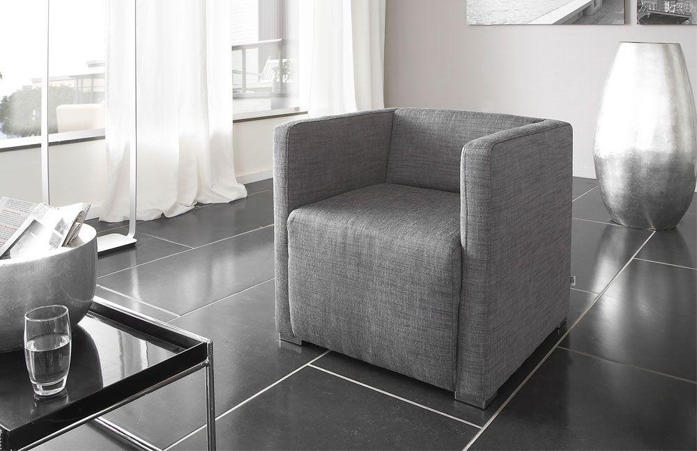 panda von poco sessel grau polsterm bel g nstig online. Black Bedroom Furniture Sets. Home Design Ideas
