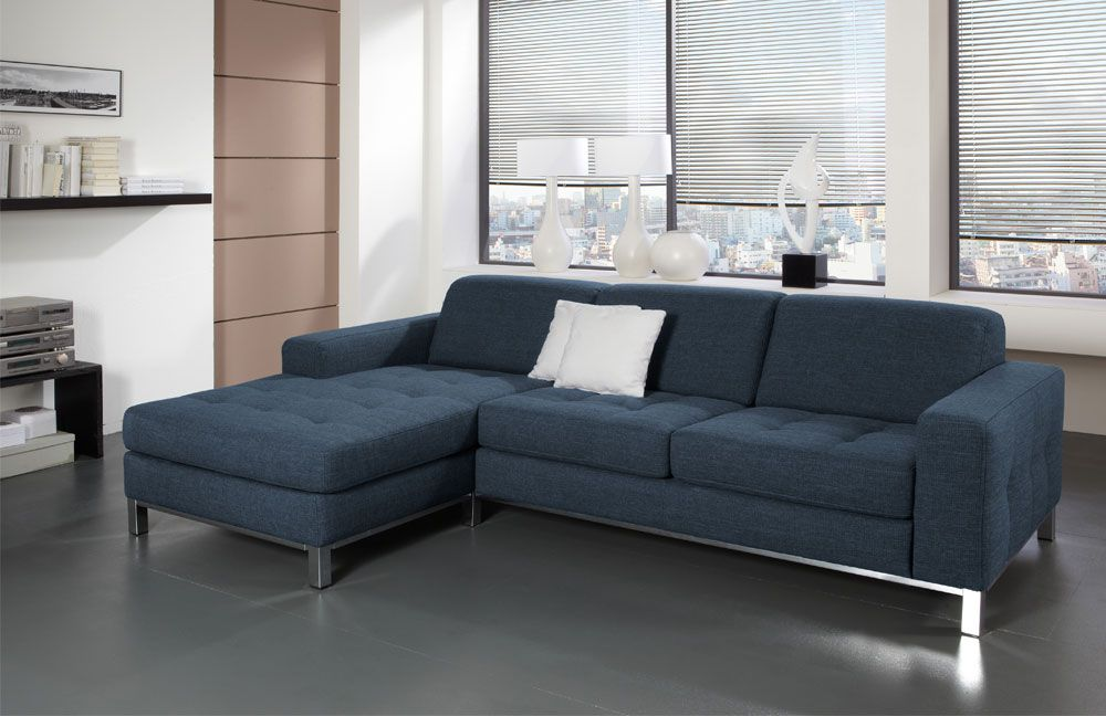 perugia von poco ecksofa blau polsterm bel g nstig online kaufen sofa couch schlafsofa zum. Black Bedroom Furniture Sets. Home Design Ideas