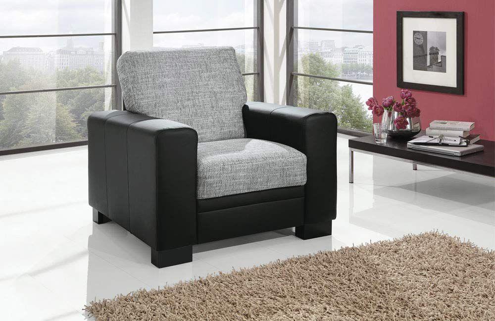 ecksofa grau schwarz. Black Bedroom Furniture Sets. Home Design Ideas