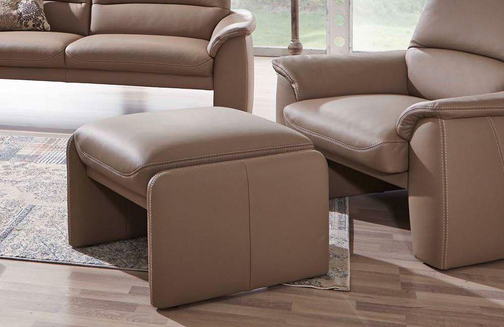 ledergarnitur relaxliner ii hellbraun von k w polsterm bel m bel letz ihr online shop. Black Bedroom Furniture Sets. Home Design Ideas