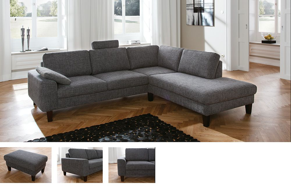 candy intermezzo ecksofa in grau m bel letz ihr online shop. Black Bedroom Furniture Sets. Home Design Ideas