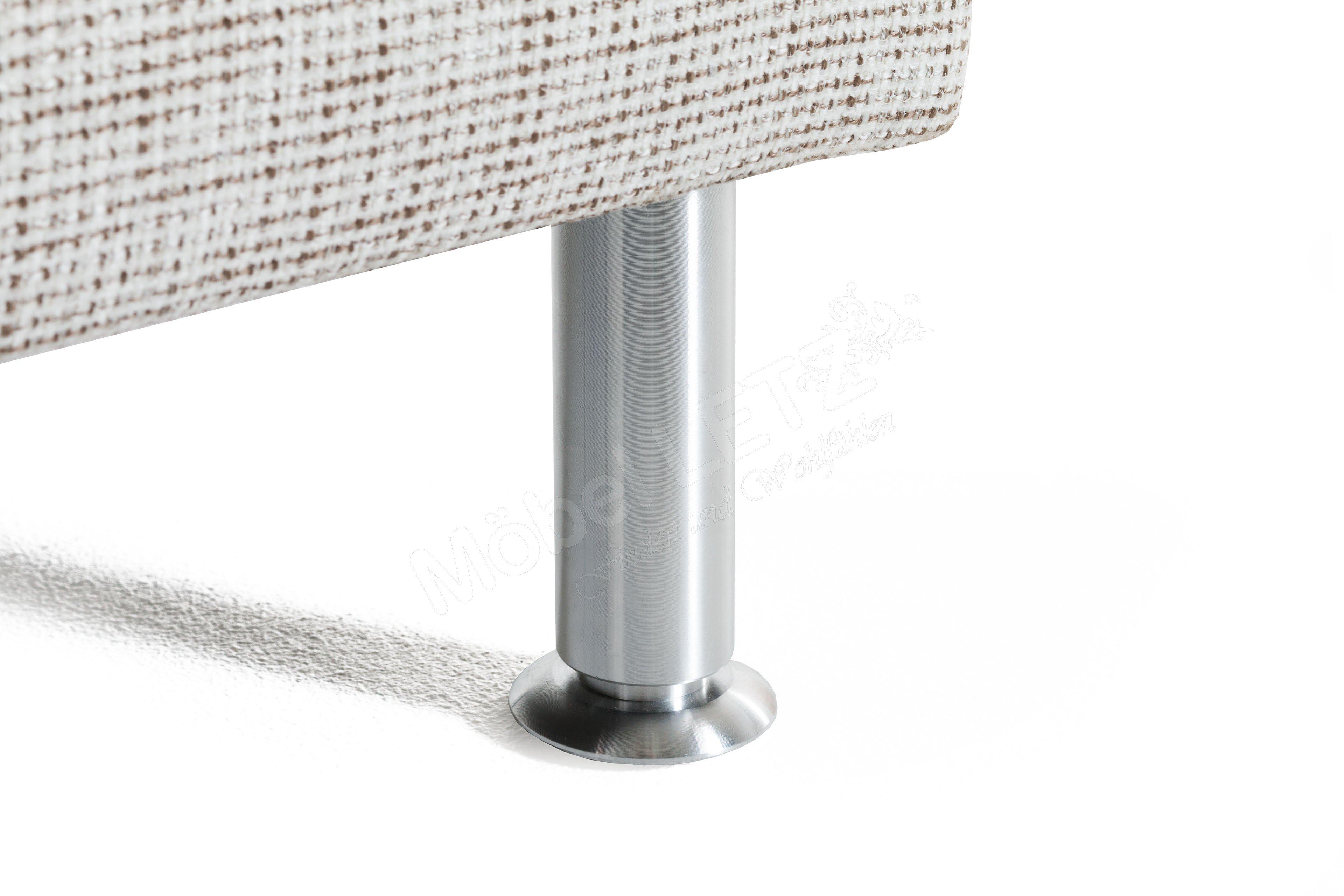 f s polsterm bel domino eckgarnitur in creme m bel letz ihr online shop. Black Bedroom Furniture Sets. Home Design Ideas