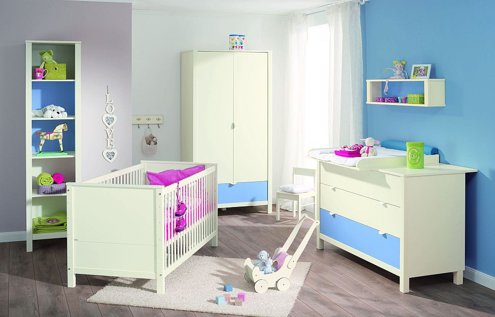 babyzimmer matilda von paidi ecru himmelblau m bel letz ihr online shop. Black Bedroom Furniture Sets. Home Design Ideas