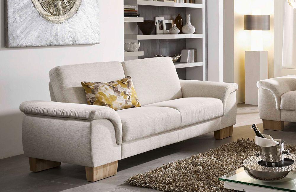 f s polsterm bel 214 parma polstergarnitur creme m bel letz ihr online shop. Black Bedroom Furniture Sets. Home Design Ideas