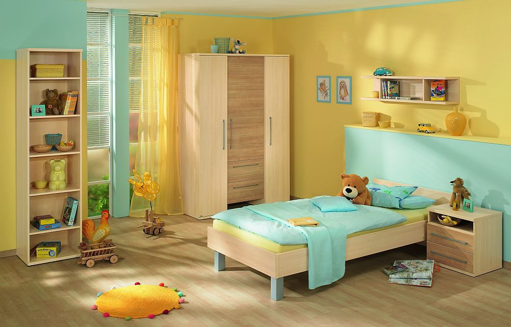kinderzimmer bruno von paidi birne kirsche m bel letz ihr online shop. Black Bedroom Furniture Sets. Home Design Ideas