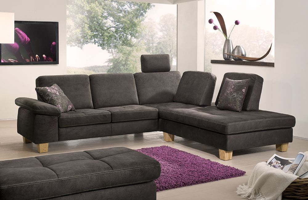 f s polsterm bel 2117 vegas ecksofa braun m bel letz ihr online shop. Black Bedroom Furniture Sets. Home Design Ideas
