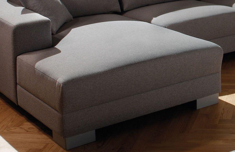candy livigno polstergarnitur in grau m bel letz ihr. Black Bedroom Furniture Sets. Home Design Ideas