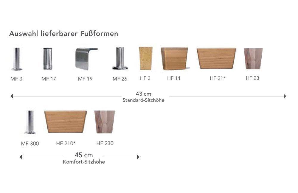 f s polsterm bel 202 opus ecksofa braun m bel letz ihr. Black Bedroom Furniture Sets. Home Design Ideas