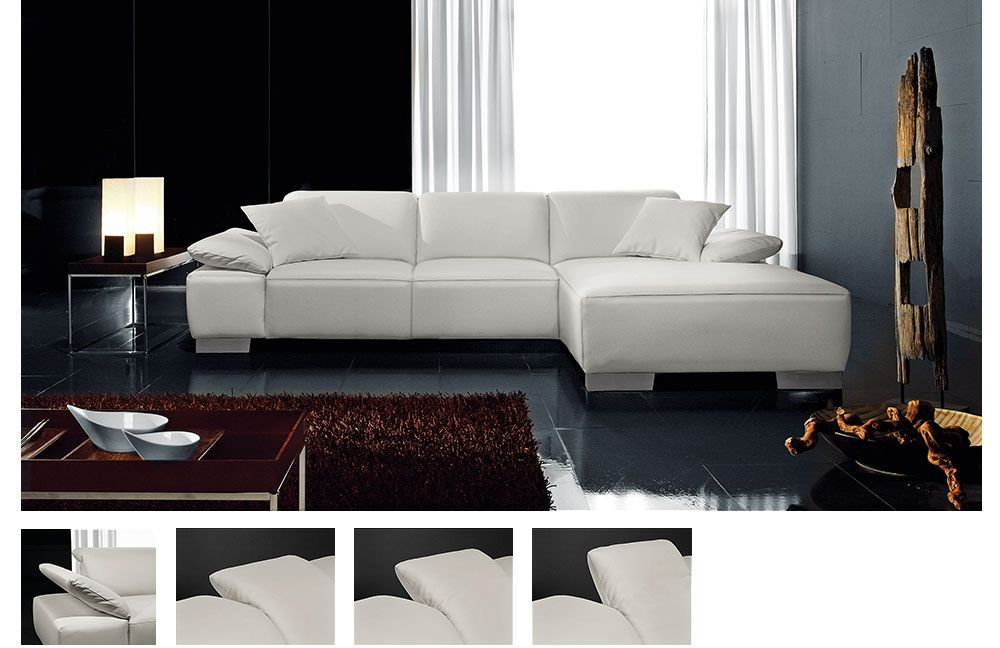 ecksofa laval wei von candy polsterm bel m bel letz ihr online shop. Black Bedroom Furniture Sets. Home Design Ideas