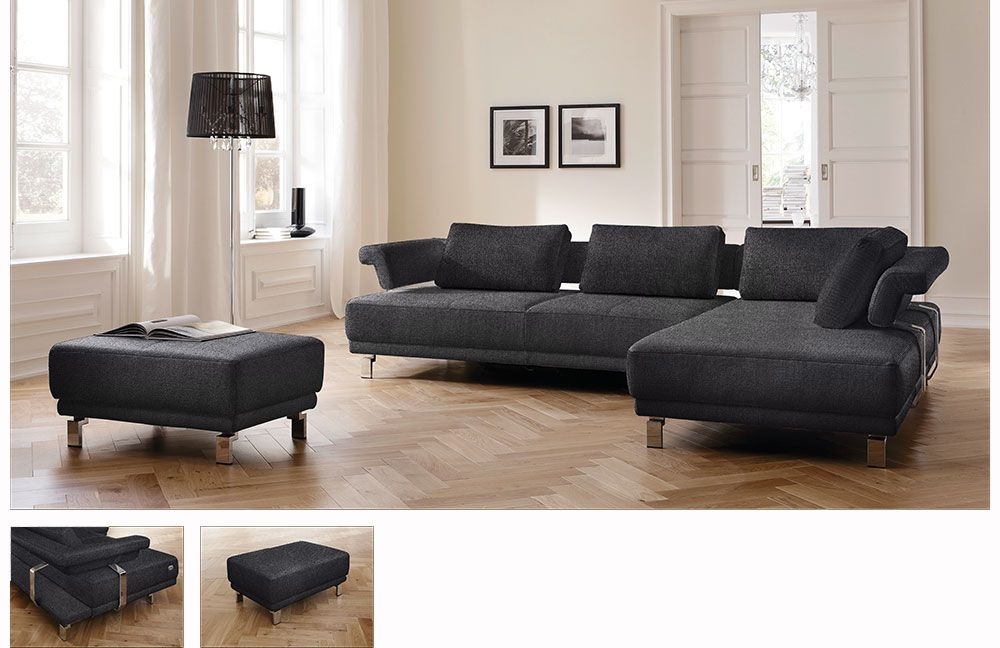 Candy Magic Ecksofa in Grau | Möbel Letz - Ihr Online-Shop