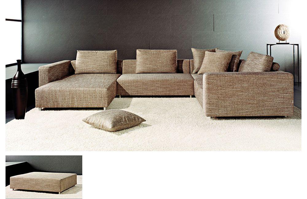 metz midtown von candy wohnlandschaft noisette polsterm bel g nstig online kaufen sofa couch. Black Bedroom Furniture Sets. Home Design Ideas