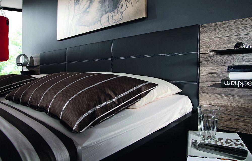 schlafzimmer vadora matt schwarz/ sanremo eiche von rauch steffen, Schlafzimmer ideen