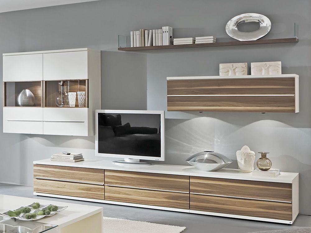 wohnwand nuss beste inspiration f r ihr interior design und m bel. Black Bedroom Furniture Sets. Home Design Ideas